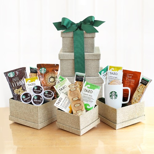 Starbucks Favorite Gift Tower