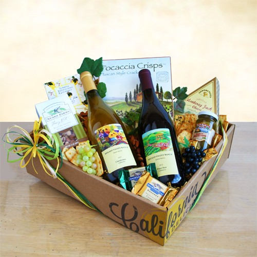 Best of California Wine Gift box