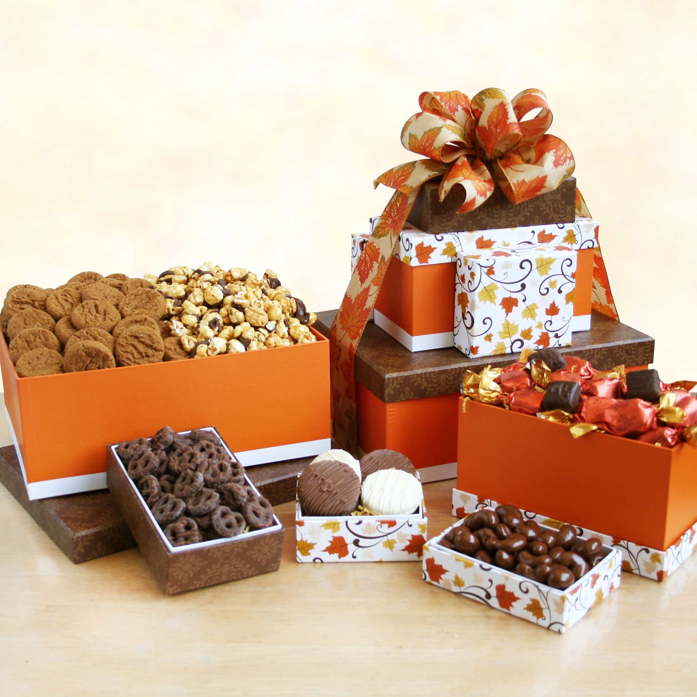 Wonderful Fall Sweets Tower