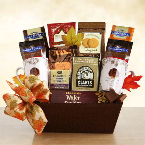 Fall Ghirardelli Chocolate and Cocoa
