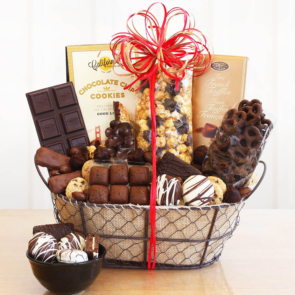 Chocolate Delights Basket
