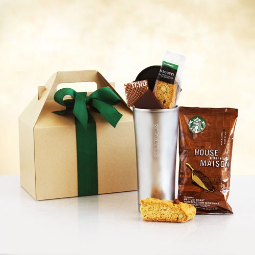 Starbucks on the Go Tumbler Tote