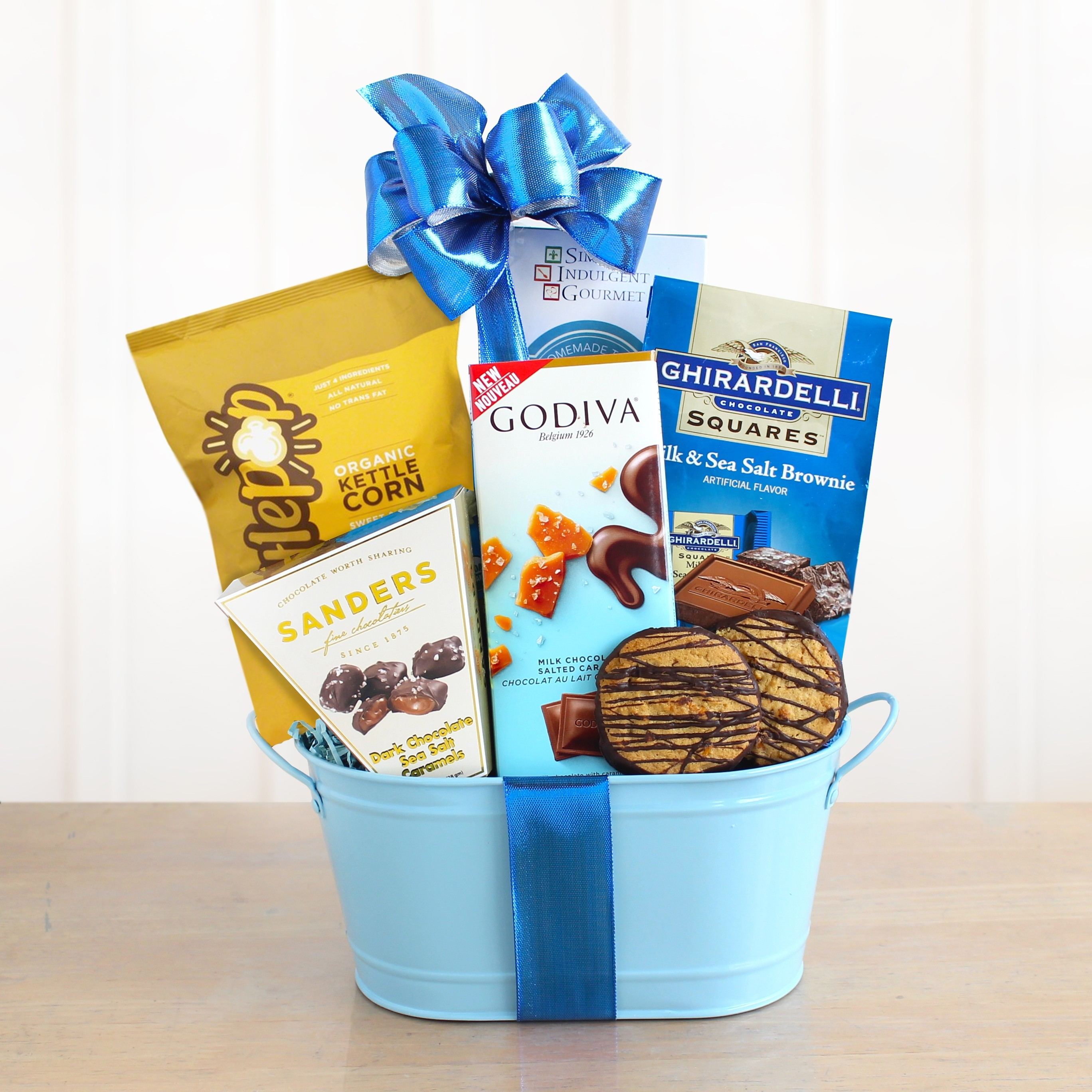 Carmel by the Sea Salt Chocolate Gift Basket