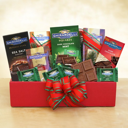 A Holiday Classic Ghirardelli Chocolate Gift