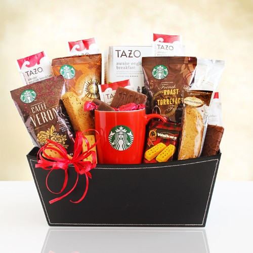 Starbucks Coffee and Tea Special Basket