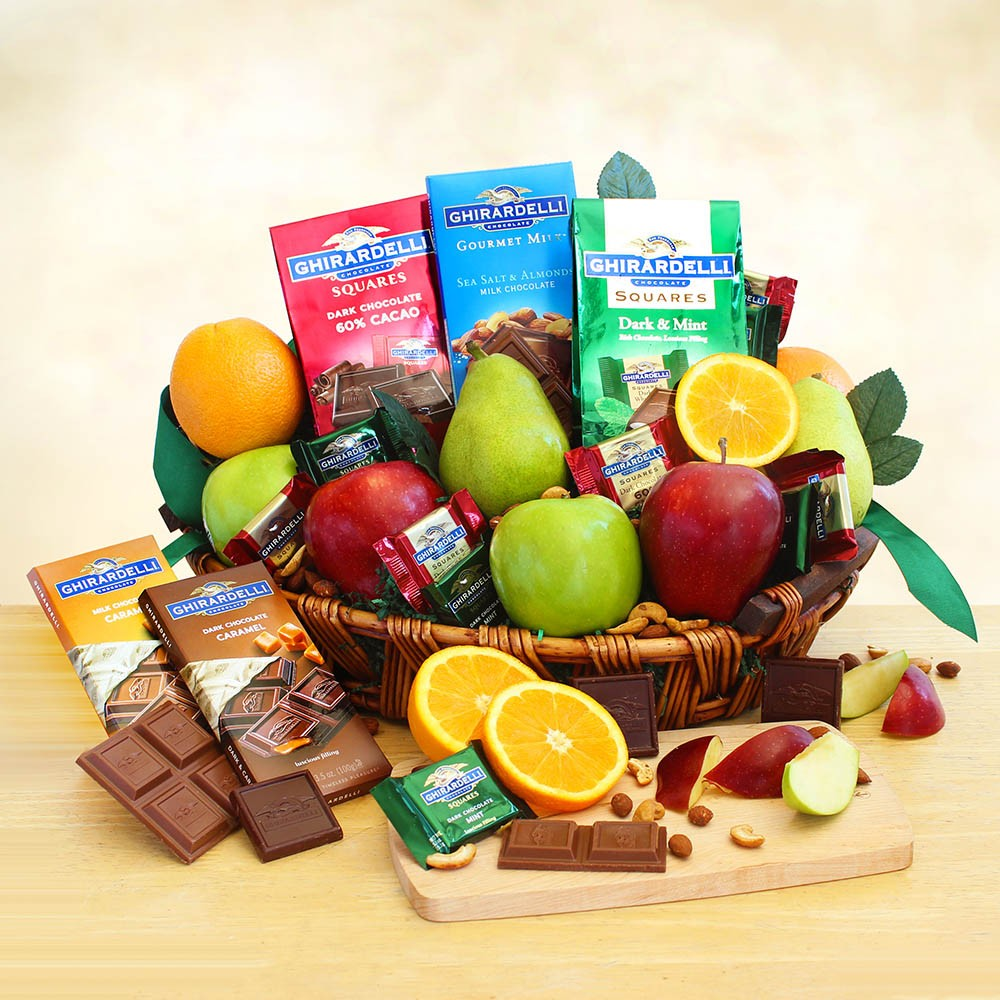 Fruit and Ghirardelli Classic