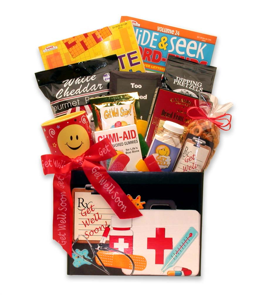 Doctor's Orders Get Well Gift Box ~ Large
