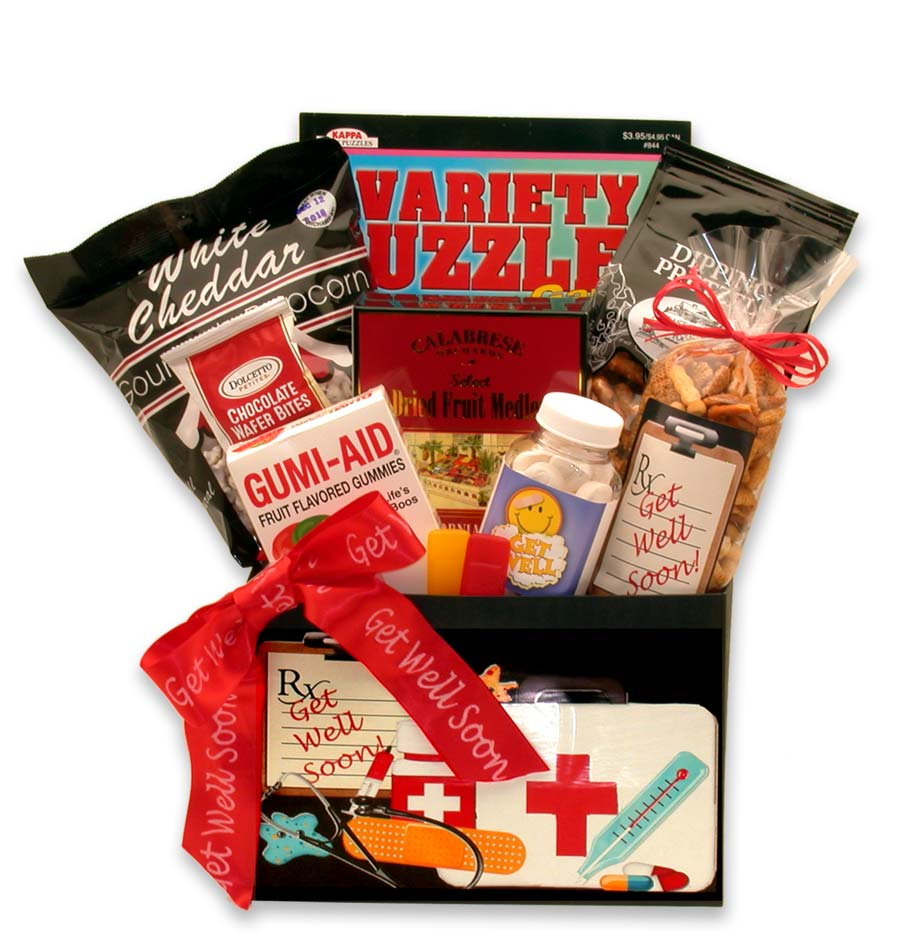 Doctor's Orders Get Well Gift Box ~ Med