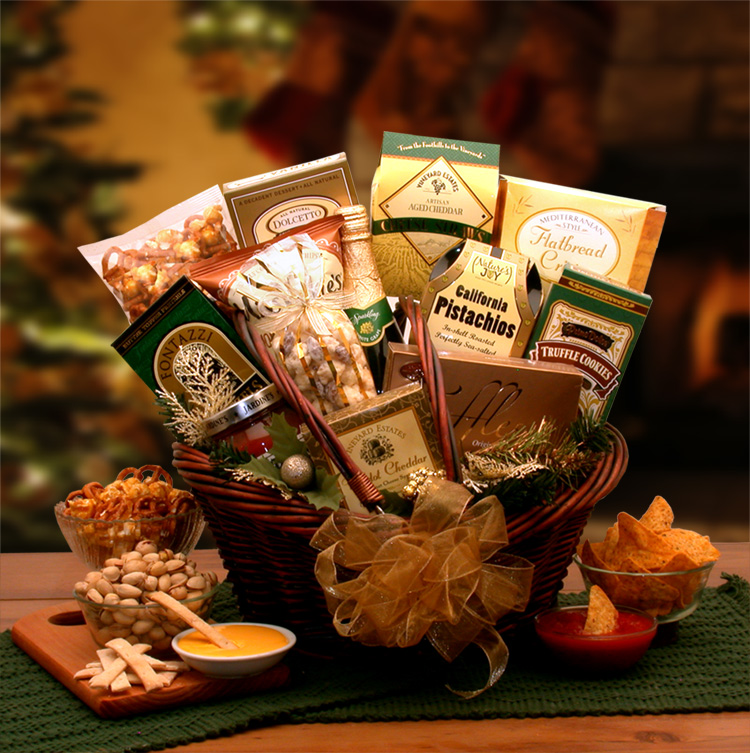 A Taste of The Holiday Season Gift Basket