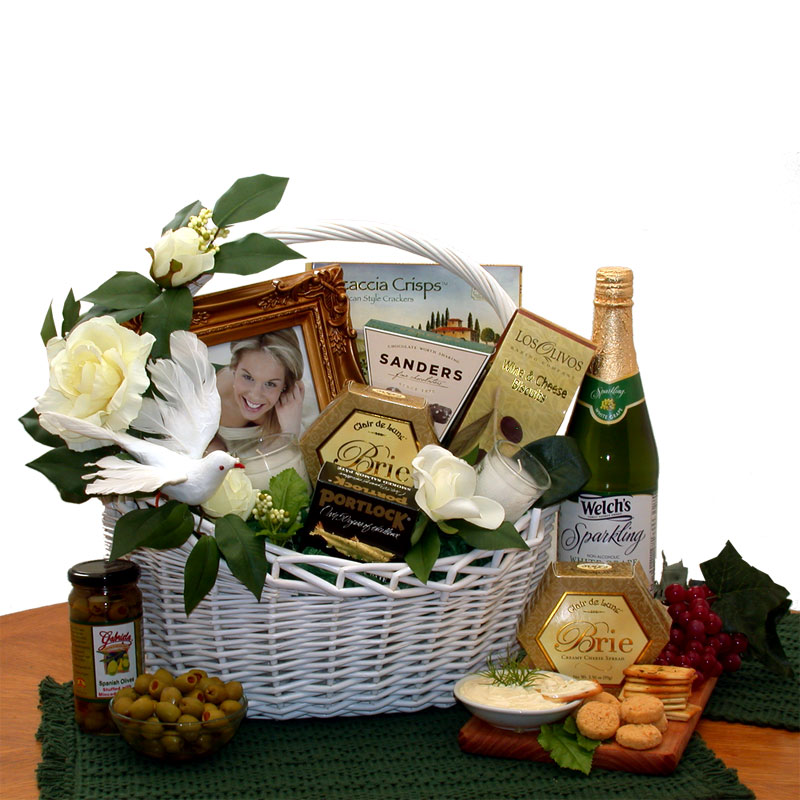 Wedding Wishes Gift Basket - Medium