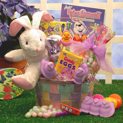 Bunny Love Easter Gift Basket - Small
