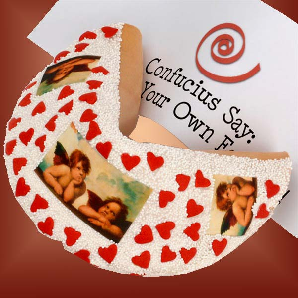 Lil\' Angels Giant Valentine\'s Fortune Cookie